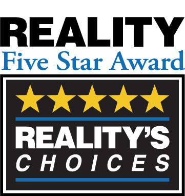 Reality 5 Star Award